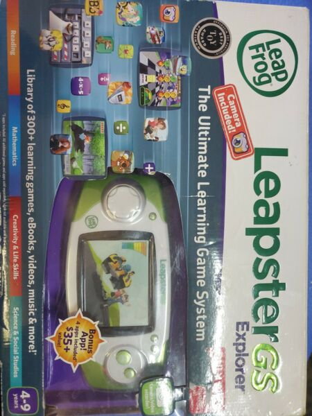 Leap Frog Leapster GS Explorer Ultimate Learning Game System wCamera Complete $39.99