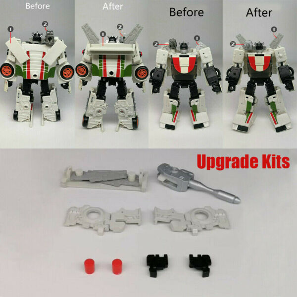 8PCS 3D DIY Upgrade KIT FOR War for TRANSFORMERS Cybertron EarthRise WheelJack