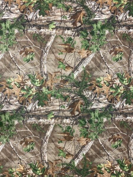 Realtree Xtra Green Camo Fabric Cordura 500D Made in USA DWR backed by the yard