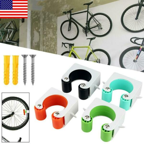 Indoor Bicycle Wall Mount Hook Road Bike Parking Buckle Portable Wall Rack US $13.83