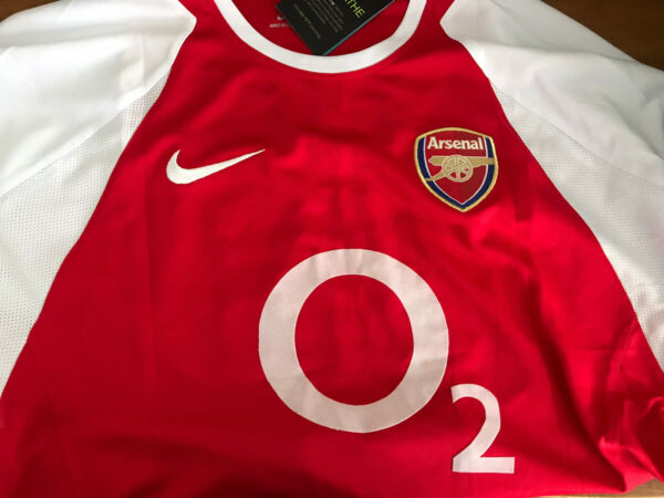 Thierry Henry Arsenal 2005-2006 Soccer Home Jersey Large
