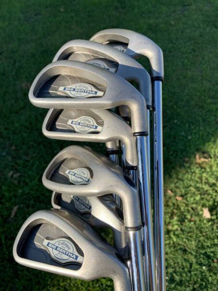 Tour Issued Prototype Callaway X-12 Pro Series Iron Set 2-pw Custom Stamped