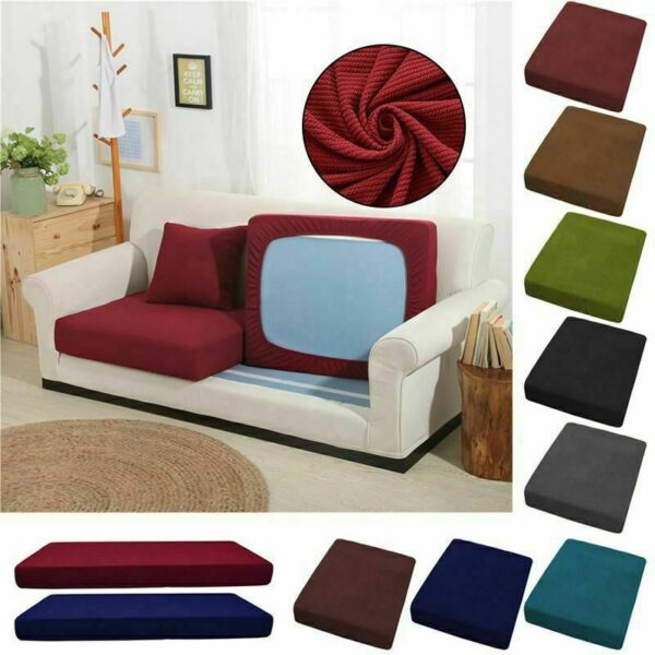 1 4 Seat Sofa Cover Couch Slipcover Stretchy Cushion Pet Dog Furniture Protector $12.99