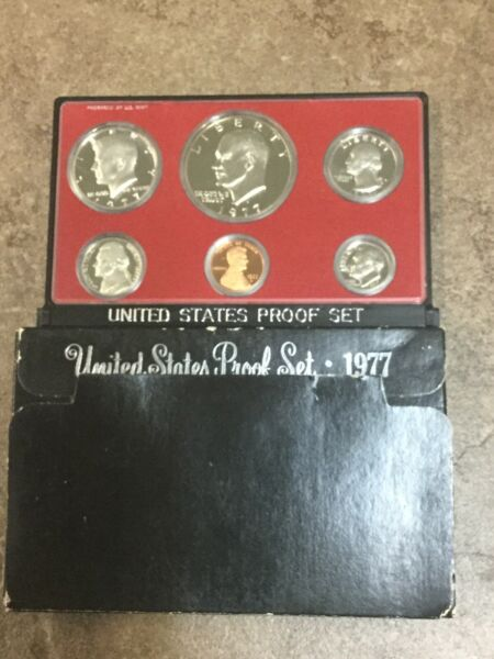 1977 United States Proof 6 Coin Set