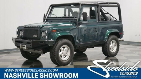 1997 Land Rover Defender 90 Off road 4x4 four by four winch