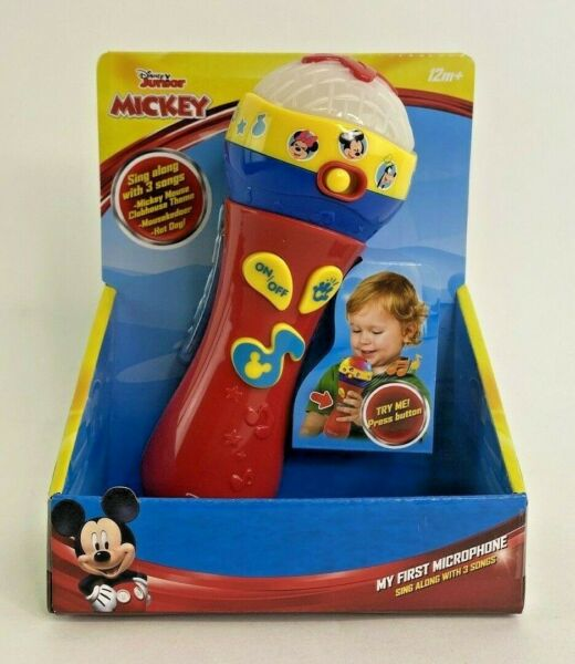 Disney Junior Mickey Mouse Clubhouse My First Microphone Brand New