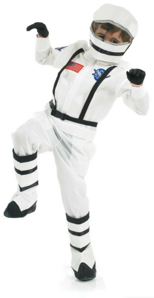 Kids Astronaut Costume Boys amp; Girls Space Suit Fancy Dress Spaceman Outfit $14.99