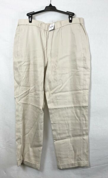 NEW J. Jill Sea Salt Easy Linen Stretch Pants Size LP $19.95