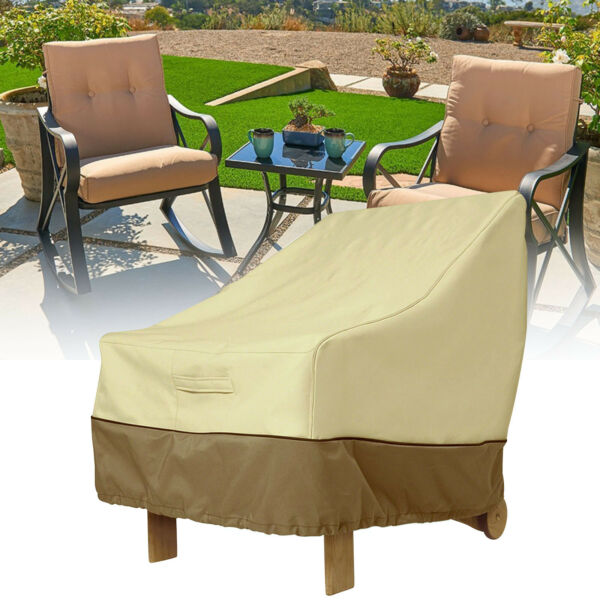 Waterproof Patio Chair Couch Chair Slipcover Furniture Protector Outdoor cover $22.99