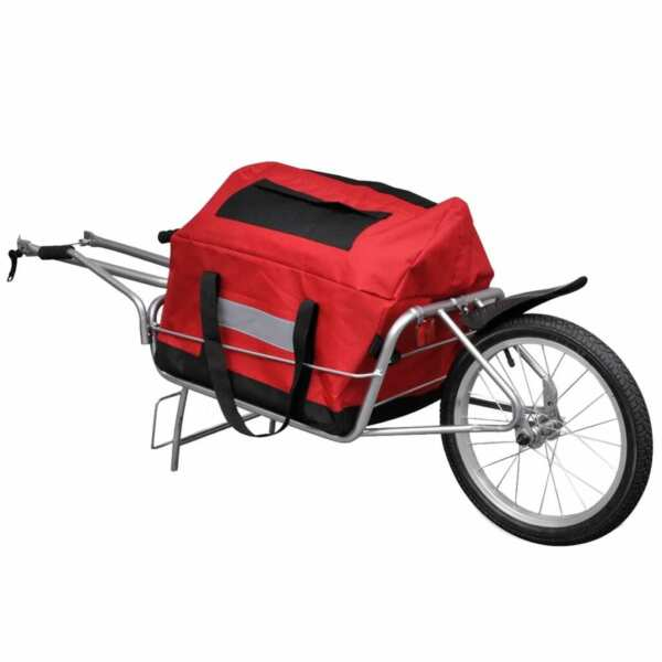 Bicycle Bike Cargo Trailer Cart Carrier Shopping Storage Single Wheel Trailers $130.30