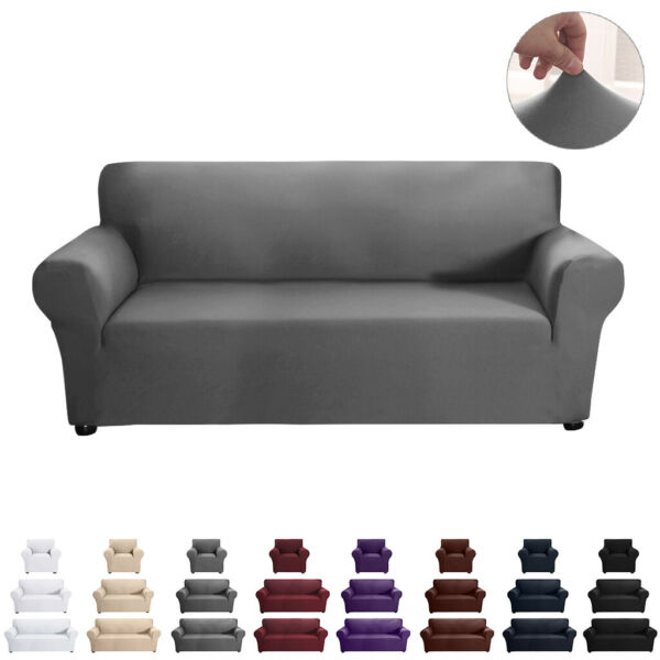 Stretch Slipcover Sofa Cover Cushion Couch Pillow Case Furniture Decoration $36.09