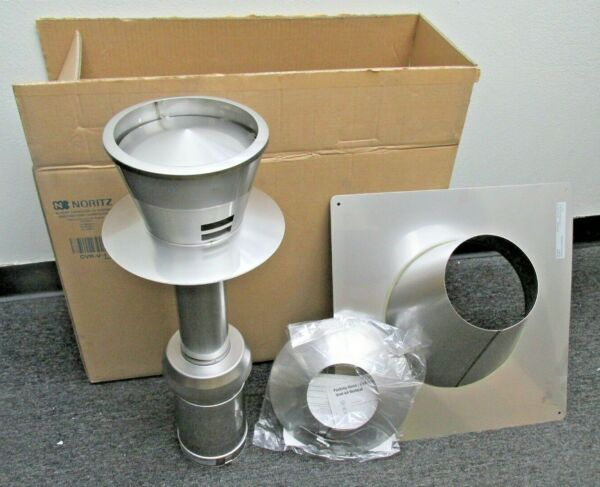 Noritz CVK V 1 Stainless Steel Double Wall Vertical Concentric vent kit $159.49