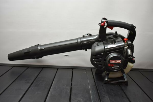 Craftsman 27cc Full Crank 2 Cycle Engine Gas Blower With Vacuum Kit