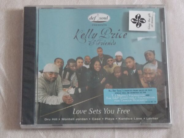 KELLY PRICE amp; FRIENDS LOVE SETS YOU FREE CD SINGLE 2000 BRAND NEW SEALED GBP 3.60