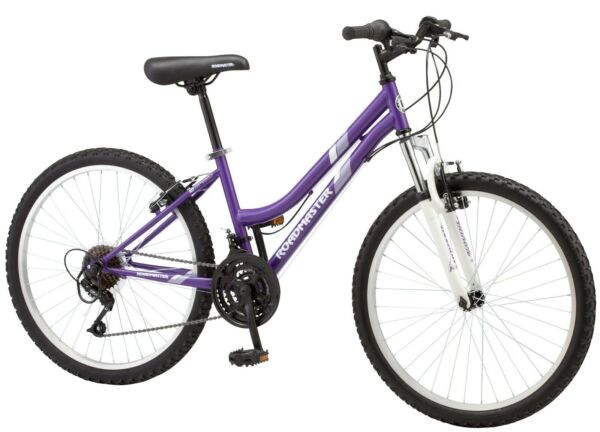 ROADMASTER Granite Peak 24 inch Girl#x27;s Mountain Bike Purple  FREE SHIPPING✅🚚 $149.99