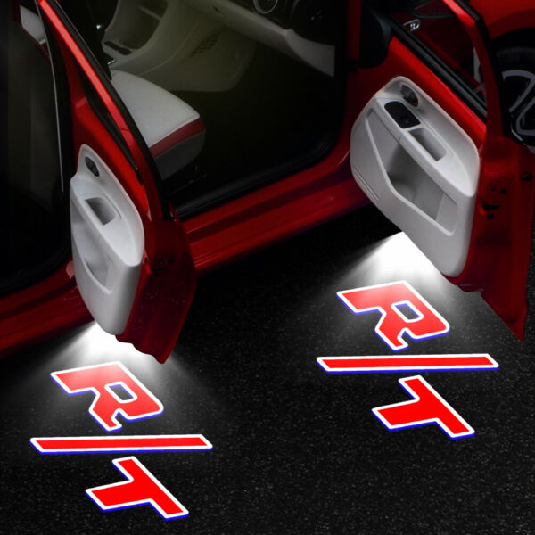 2X Courtesy Car Door Projector Shadow Light For For Dodge Challenger 2008 2019