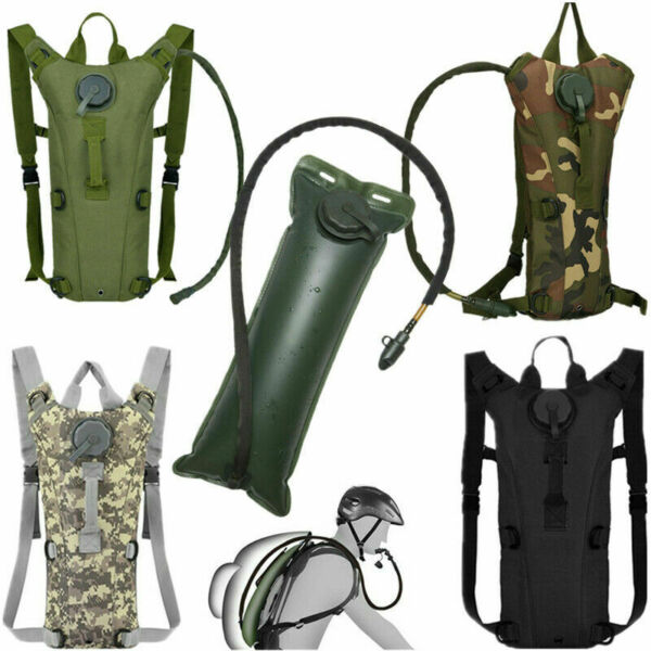 Multicam Hydration Backpack Water Carrier System Army 100oz Pack No Bladder $16.99