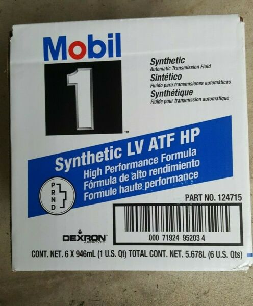 MOBIL 1 HP SYNTHETIC TRANSMISSION FLUID 8L90 8L90E CAMARO SILVERADO COLORADO GMC