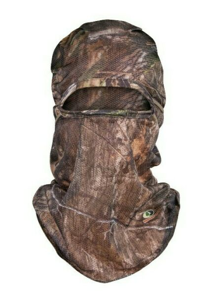 Mossy Oak Breakup County Mesh Face Mask Lightweight Form Fit ONE SIZE FITS MOST $9.97
