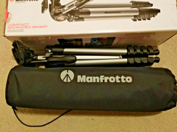 Manfrotto Compact Advanced Smart 65quot; Tripod Black READ