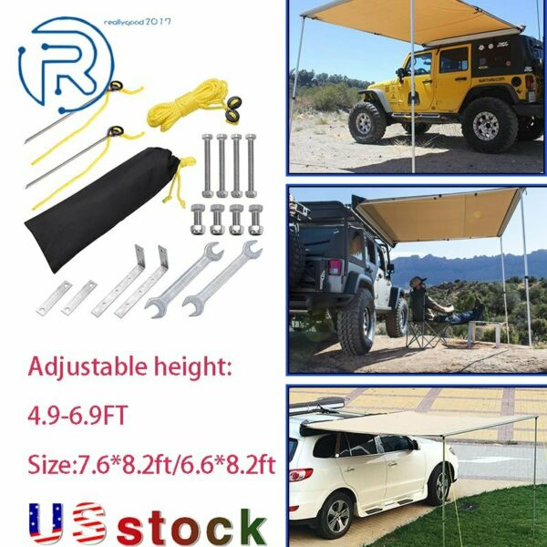 Vehicle Tent Camping Travel Shelter Outdoor Sunshade Canopy Awning Rooftop car $150.99