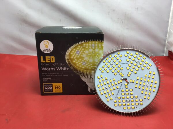 Haus Bright 100W LED Grow Light Bulb Warm White Gently Used