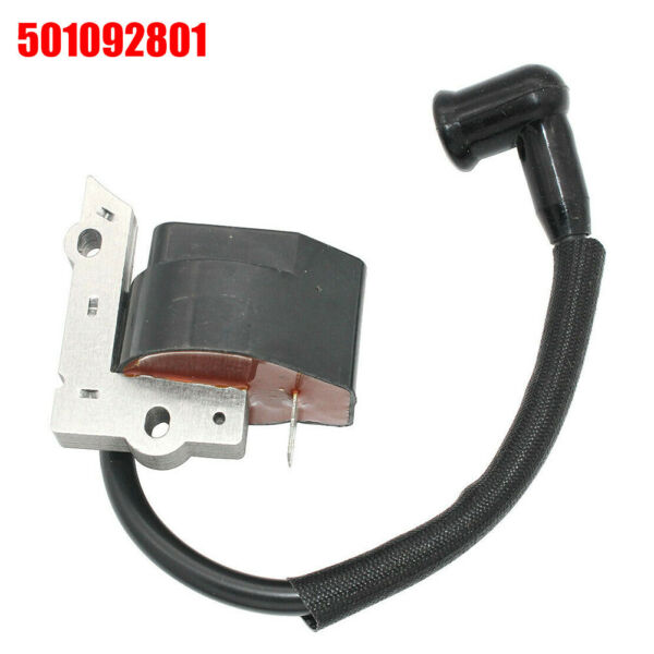 For Poulan Ignition Coil For Craftsman Parts Black #501092801 Practical