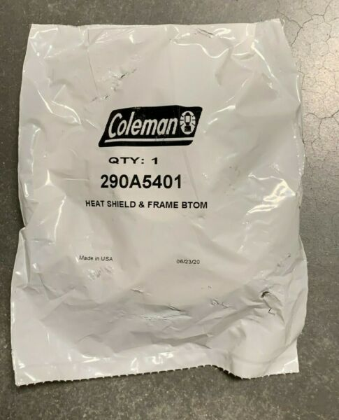 Coleman Heat Shield and Frame Bottom Item #: 290A5401 Brand New Old Stock $13.75