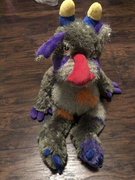 """Manhattan Toy Galoompagalots Mrax Monster Large Red Nose 24"""" Plush Stuffed Toy $70.00"""