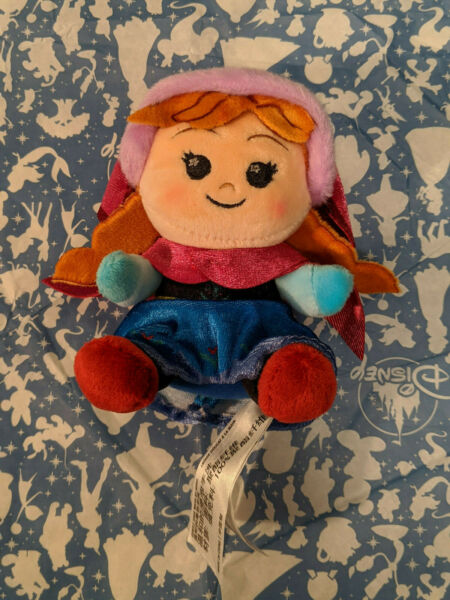 Disney Wishables Plush Frozen Ever After Series Anna NEW