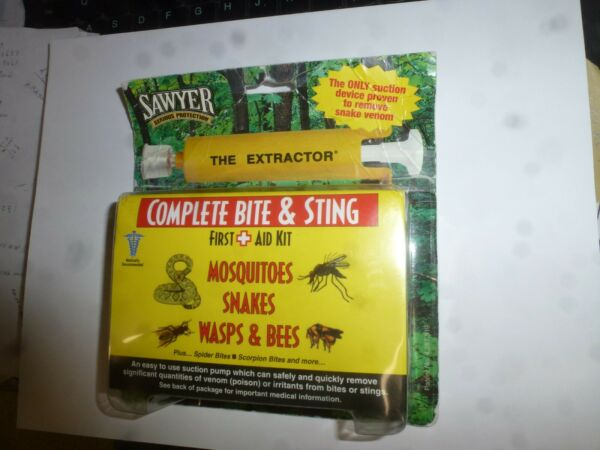 Sawyer Complete Bite amp; Sting For SnakesWasps amp; Bees Bites Strings $13.25