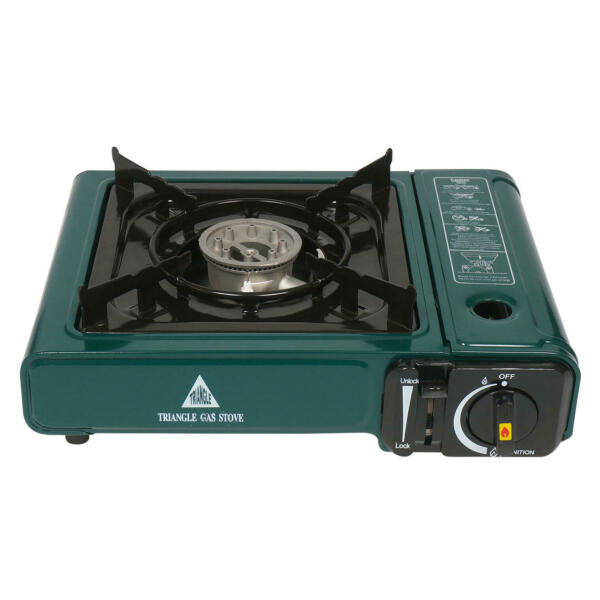 NEW Portable Gas Stove Great for Camping Green