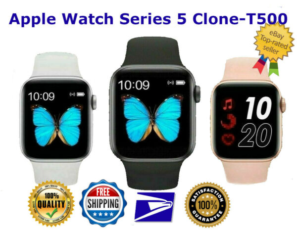 Smart Watch IOS Android Iphone Apple Samsung LG T500 Smartwatch Men Kids Watches $21.99