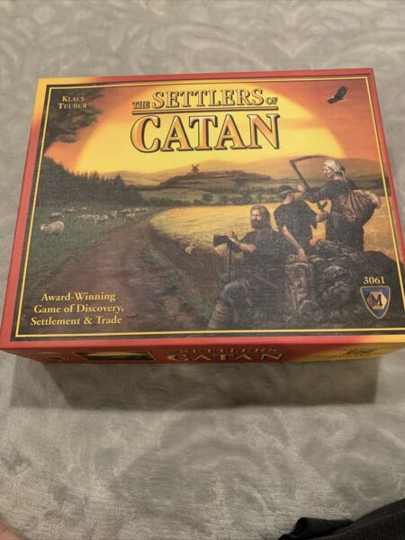 The Settlers of Catan Board Game #3061 Mayfair Games 4th Edition Complete