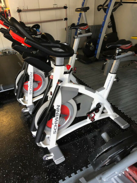 SCHWINN AC Performance CARBON BLUE w CONSOLE Exercise Bike INDOOR CYCLING Gym $1395.00