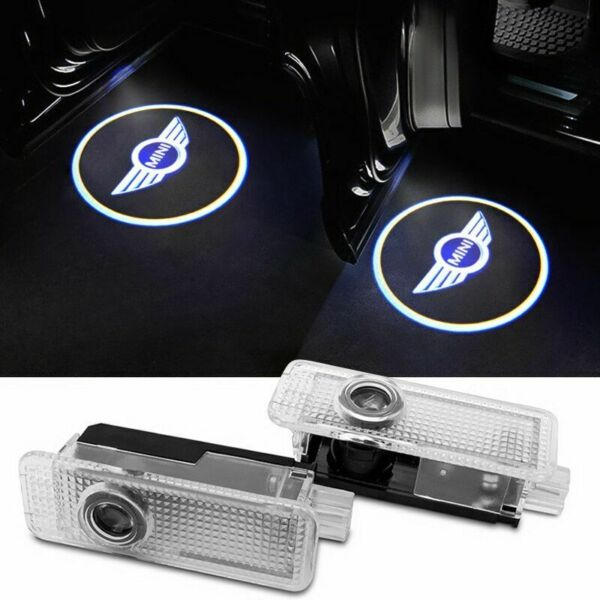 MINI COOPER LED Car Door Welcome Light Logo Projector for Mini Cooper 2PCS
