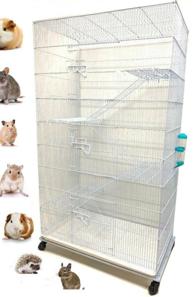 55quot; X Large 5 Level Ferret Guinea Pig Sugar Glider Hamster Rat Mice Rodent Cage