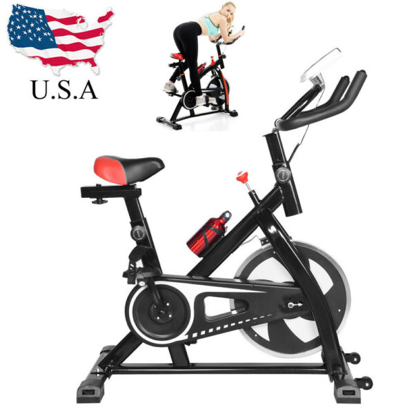 Bicycle Cycling Fitness Gym Exercise Stationary Bike Cardio Workout Home Indoor $138.99