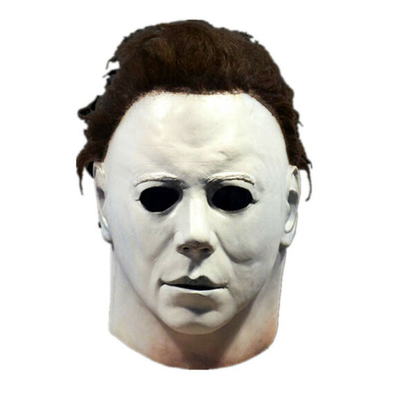 Halloween Horror Michael Myers Killer Mask Cosplay Scary Latex Costume 2020