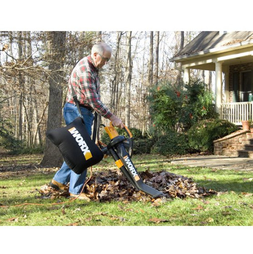 Leaf Blower Vacuum Mulcher Yard Tool Corded Electric Outdoor Leaves Collection