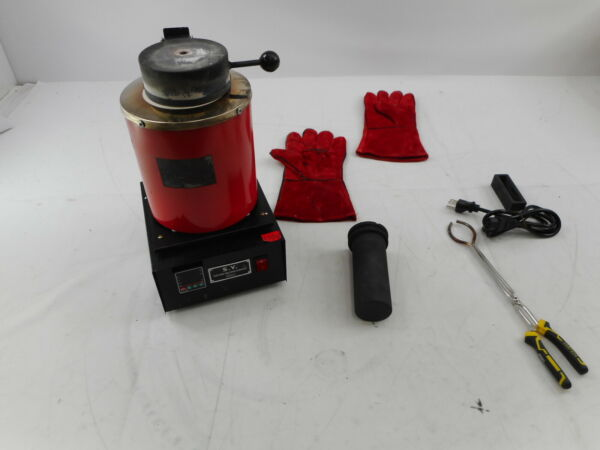 TOAUTO SY0001 Digital Electric Melting Furnace 110V Red $202.01