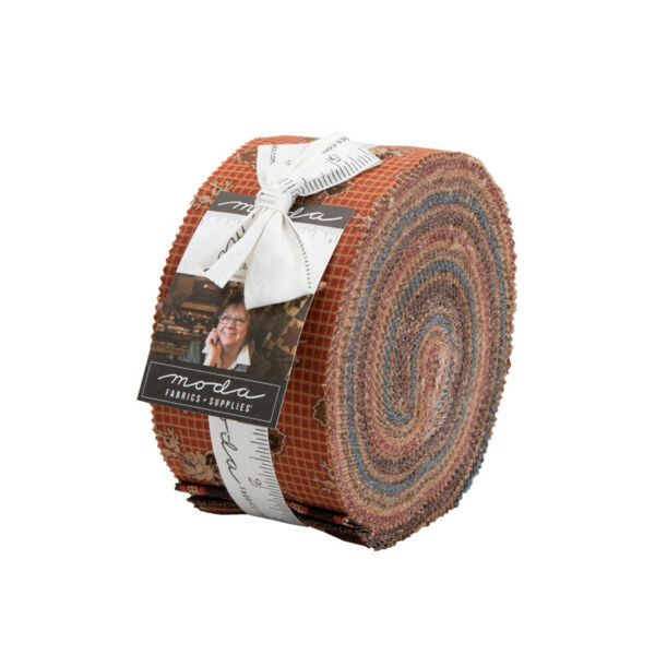 Yesterday Jelly Roll by Jo Morton Moda Fabric 40 2.5 inch strips 38100 JR