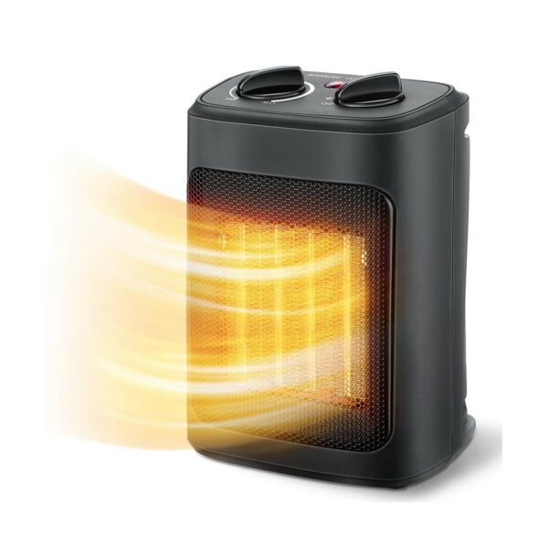 Aikoper Space Heater 1500W Electric Heaters Indoor Portable with Thermostat...