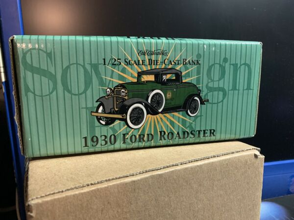 ERTL SOVEREIGN BANK 1930 FORD MODEL quot;Aquot; ROADSTER BANK