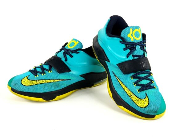 Nike KD VII 7 Uprising Basketball Shoes Mens 12.5 Durant Sneaker 653996 370 $150