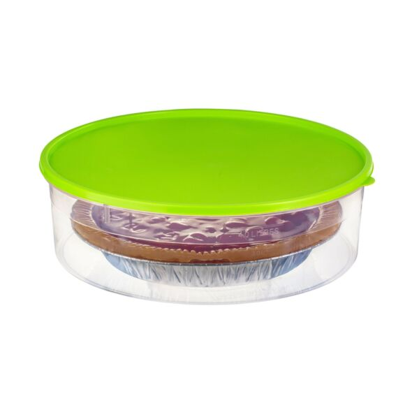 "Zilpoo Plastic Pie Container with Lid 10.5"" Cupcake Carrier Muffin Tart ..."