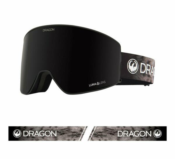 Dragon PXV2 Snow Leopard Lumalens Dark Smoke Light Rose Snow Goggle NIB NEW 2020