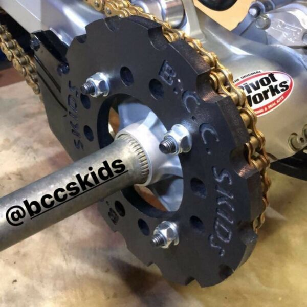 Black Honda Trx400ex 1 2 Poly Sprocket Guard Trx 400 Ex