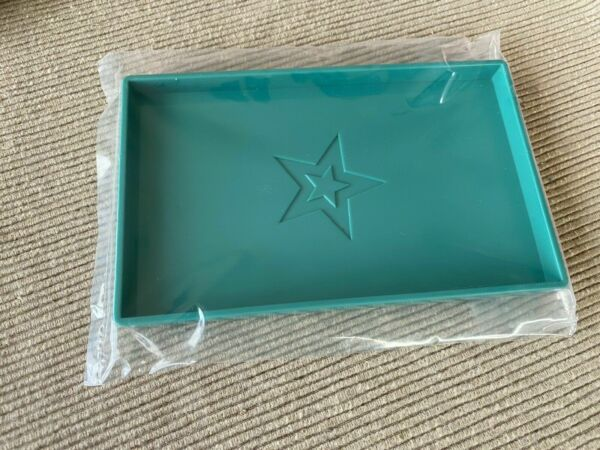 American Girl large food serving tray blue NEW 18quot; doll $11.25