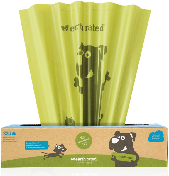 Earth Rated X Large Dog Waste Bags Lavender Scented Poop Bags For Large Breeds $15.99